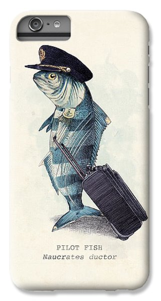 Animals iPhone 6s Plus Case - The Pilot by Eric Fan