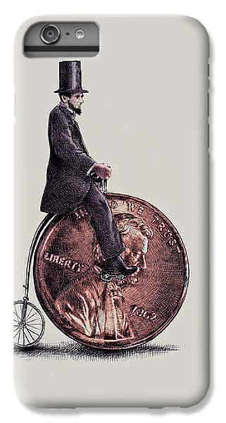 Penny Farthing IPhone 6s Plus Case by Eric Fan