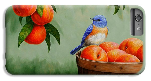 Bluebird And Peaches Greeting Card 3 IPhone 6s Plus Case