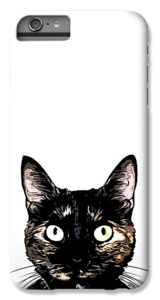 Peeking Cat IPhone 6s Plus Case
