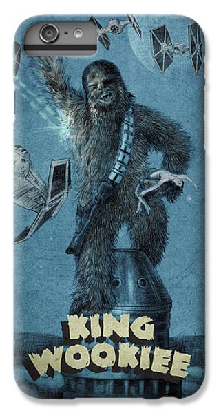 King Wookiee IPhone 6s Plus Case by Eric Fan