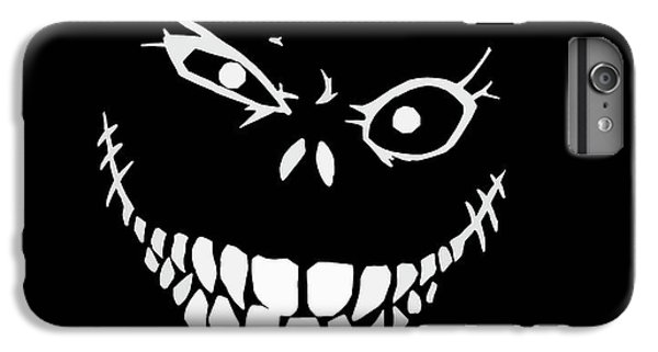 Bass iPhone 6s Plus Case - Crazy Monster Grin by Nicklas Gustafsson