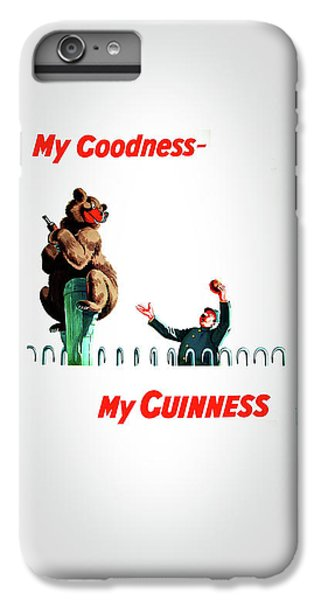 Beer iPhone 6s Plus Case - My Goodness My Guinness 2 by Mark Rogan