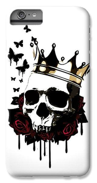 Floral iPhone 6s Plus Case - El Rey De La Muerte by Nicklas Gustafsson