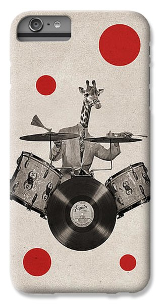 Drum iPhone 6s Plus Case - Animal19 by Francois Brumas