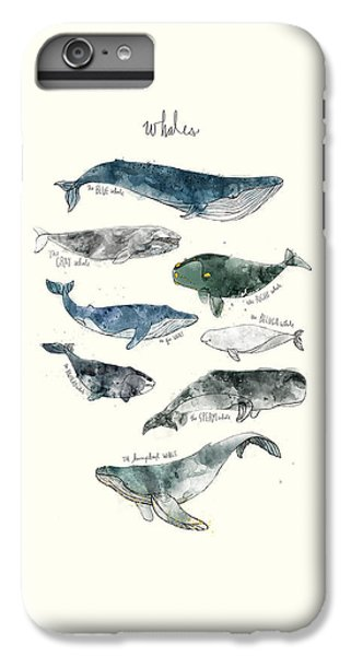 Whales IPhone 6s Plus Case by Amy Hamilton