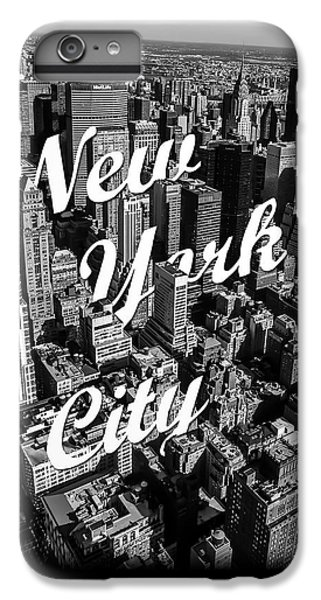 Great White Shark iPhone 6s Plus Case - New York City by Nicklas Gustafsson