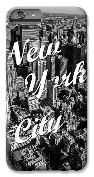 White iPhone 6s Plus Case - New York City by Nicklas Gustafsson