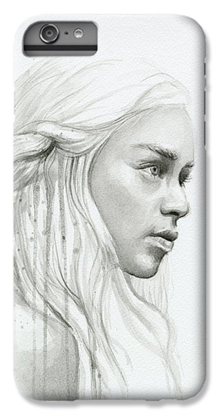 Dragon iPhone 6s Plus Case - Daenerys Mother Of Dragons by Olga Shvartsur