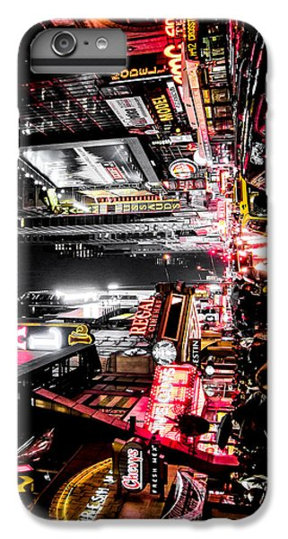 Times Square iPhone 6s Plus Case - New York City Night II by Nicklas Gustafsson