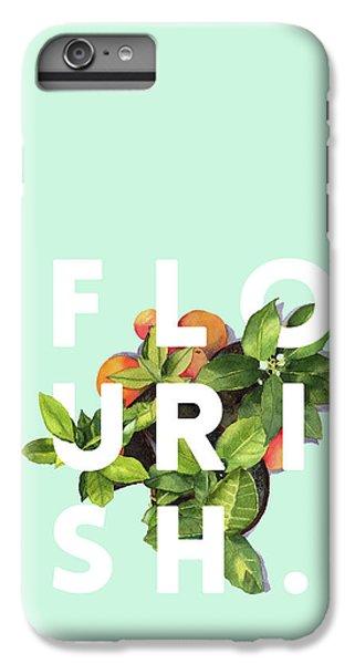 Flowers iPhone 6s Plus Case - Flourish by Uma Gokhale