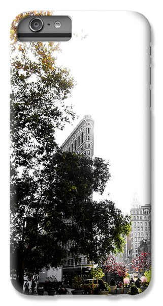 Times Square iPhone 6s Plus Case - Flatiron Autumn  by Nicklas Gustafsson