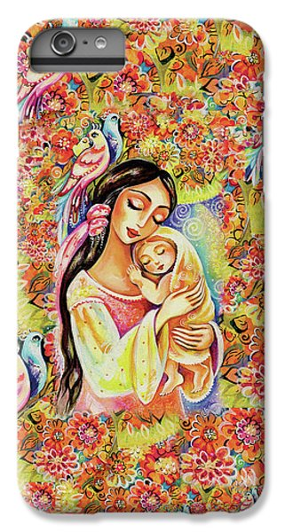 IPhone 6s Plus Case featuring the painting Little Angel Dreaming by Eva Campbell
