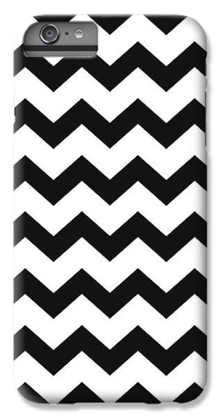 Black White Geometric Pattern IPhone 6s Plus Case by Christina Rollo