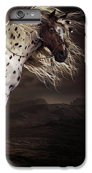 Horse iPhone 6s Plus Case - Leopard Appalossa by Shanina Conway