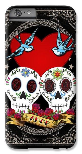 Love Skulls II IPhone 6s Plus Case