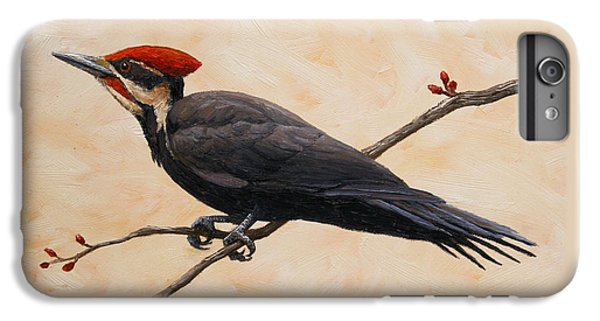 Woodpecker iPhone 6s Plus Case - Pileated Woodpecker by Crista Forest