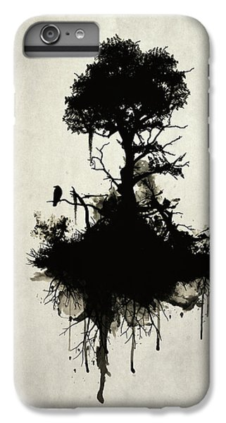 Raven iPhone 6s Plus Case - Last Tree Standing by Nicklas Gustafsson