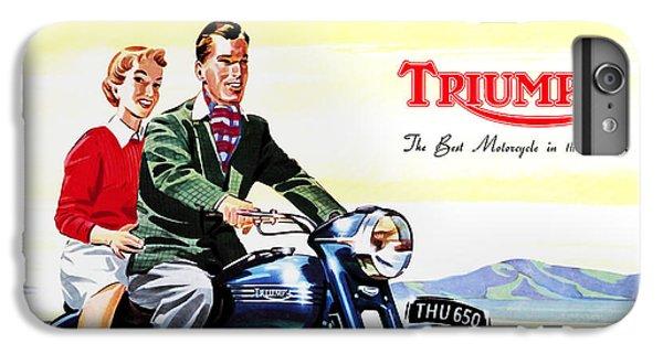 Triumph 1953 IPhone 6s Plus Case by Mark Rogan
