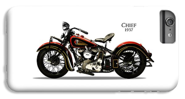 Indian Chief 1937 IPhone 6s Plus Case by Mark Rogan