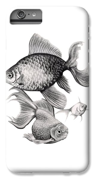 Goldfish IPhone 6s Plus Case by Sarah Batalka