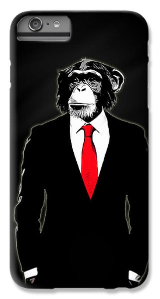 Domesticated Monkey IPhone 6s Plus Case by Nicklas Gustafsson