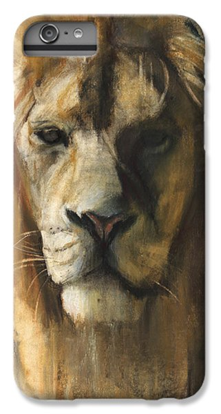 Asiatic Lion IPhone 6s Plus Case by Mark Adlington