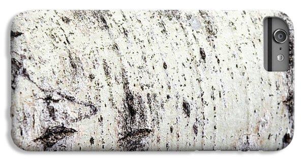 Aspen Tree Bark IPhone 6s Plus Case by Christina Rollo