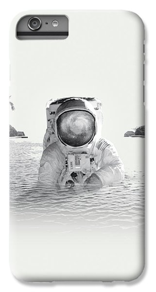 Space iPhone 6s Plus Case - Astronaut by Fran Rodriguez
