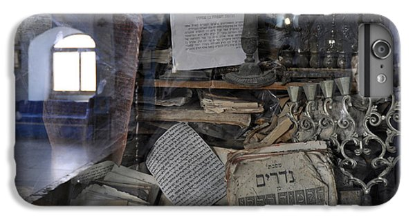 IPhone 6s Plus Case featuring the photograph At The Old Tample Of Safed  by Dubi Roman