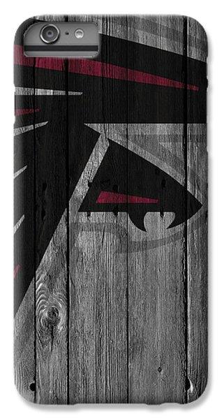 Atlanta Falcons Wood Fence IPhone 6s Plus Case