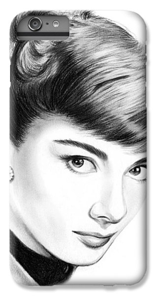 Audrey Hepburn iPhone 6s Plus Case - Audrey Hepburn by Greg Joens