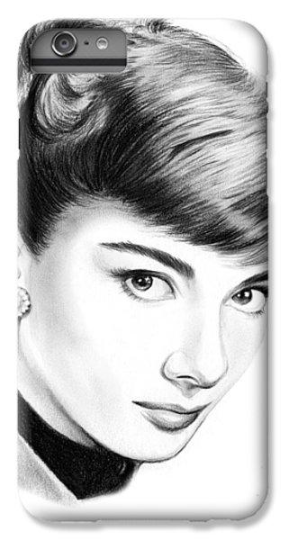 Audrey Hepburn iPhone 6s Plus Case - Audrey Hepburn by Greg Joens