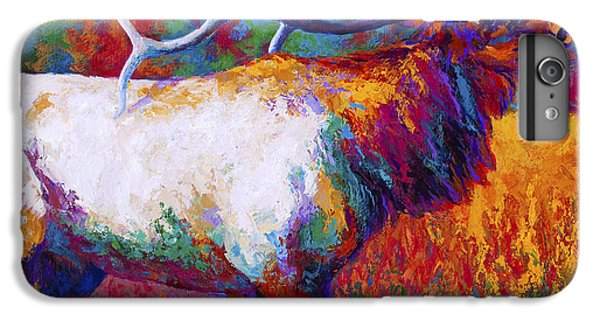Cow iPhone 6s Plus Case - Autumn by Marion Rose