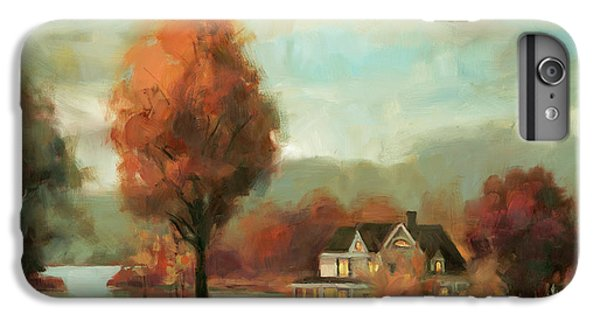 Geese iPhone 6s Plus Case - Autumn Memories by Steve Henderson