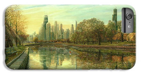 Hancock Building iPhone 6s Plus Case - Autumn Serenity by Doug Kreuger