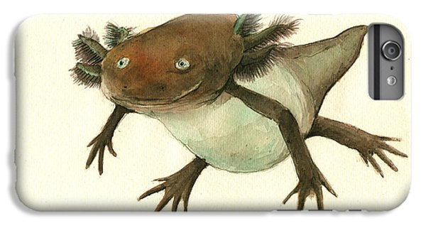 Axolotl IPhone 6s Plus Case by Juan Bosco