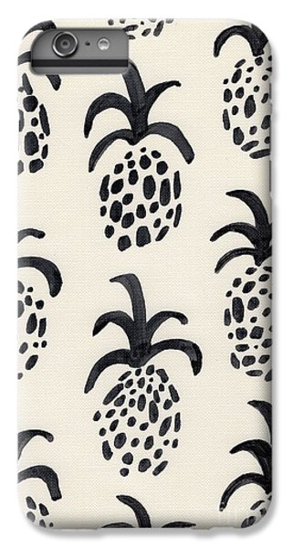 B And W Pineapple Print IPhone 6s Plus Case by Anne Seay