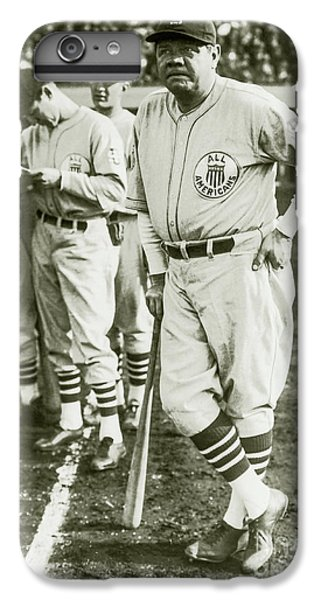 Babe Ruth iPhone 6s Plus Case - Babe Ruth All Stars by Jon Neidert