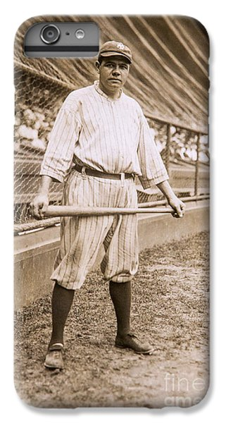 Babe Ruth On Deck IPhone 6s Plus Case