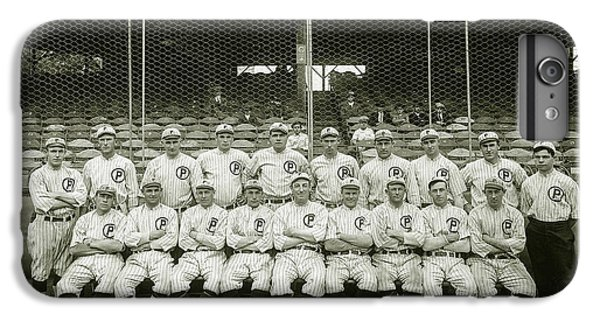 Babe Ruth iPhone 6s Plus Case - Babe Ruth Providence Grays Team Photo by Jon Neidert