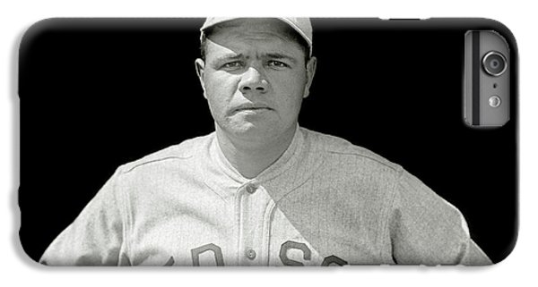 Babe Ruth Red Sox IPhone 6s Plus Case by Jon Neidert