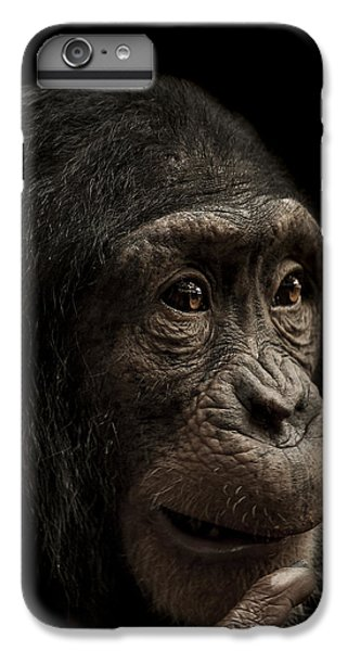 Chimpanzee iPhone 6s Plus Case - Baffled by Paul Neville