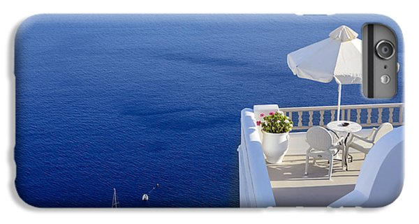 Greece iPhone 6s Plus Case - Balcony Over The Sea by Joana Kruse
