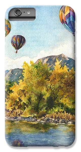 Hot iPhone 6s Plus Case - Balloons At Twin Lakes by Anne Gifford