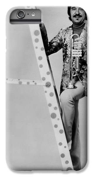 Johnny Carson iPhone 6s Plus Case - Band Leader Doc Severinson 1974 by Mountain Dreams