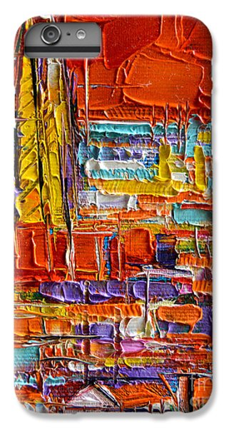 Barcelona View From Parc Guell - Abstract Miniature IPhone 6s Plus Case