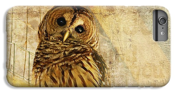 Bar iPhone 6s Plus Case - Barred Owl by Lois Bryan