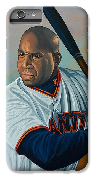 Babe Ruth iPhone 6s Plus Case - Barry Bonds by Paul Meijering