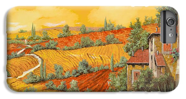 Sunflower iPhone 6s Plus Case - Bassa Toscana by Guido Borelli